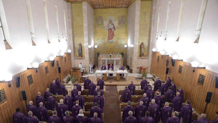 Ejercicios espirituales del Papa y la Curia: La Dicha de la Sed.