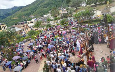 Viernes Santo convoca multitudinaria Procesión en Chinchipe.