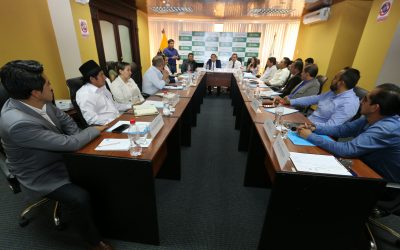 Alcaldes electos son asesorados en ejecución de proyectos