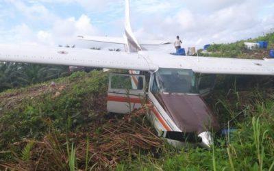 Fuerzas Armadas investigan cargamento de avioneta accidentada en Esmeraldas