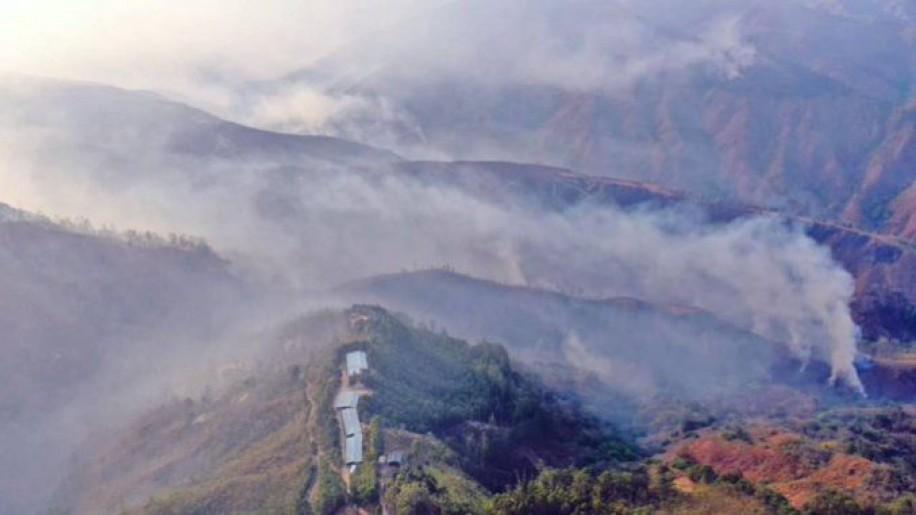 Incendios afectan a más de 13.000 hectáreas de cobertura vegetal en Ecuador