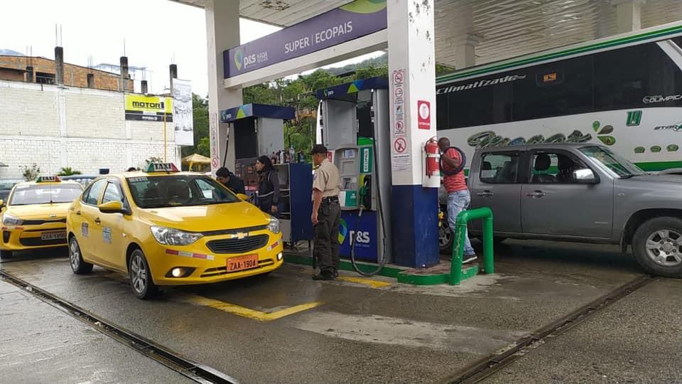 Sin novedad operativos de control de precios de combustible