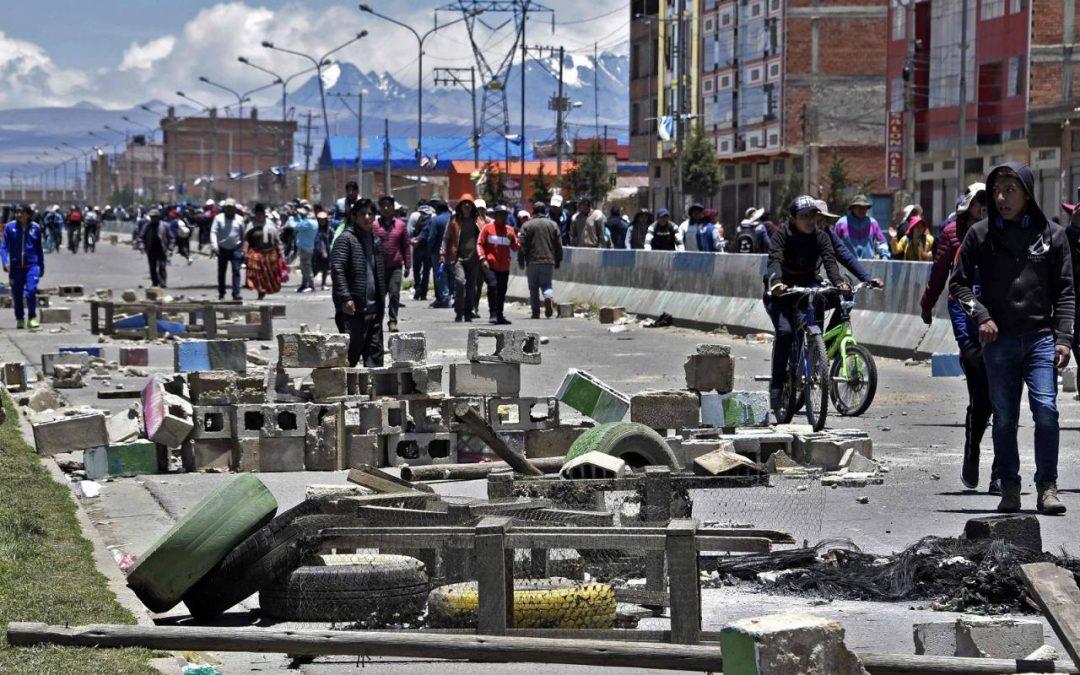 Presidenta de Bolivia envía al Congreso ley para convocar a elecciones generales